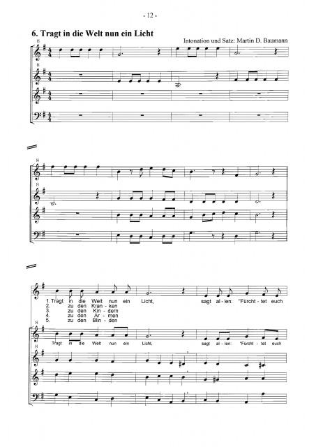 Weihnachtslieder Partitur.12 Advents Und Weihnachtslieder Partitur Goldbach Verlag
