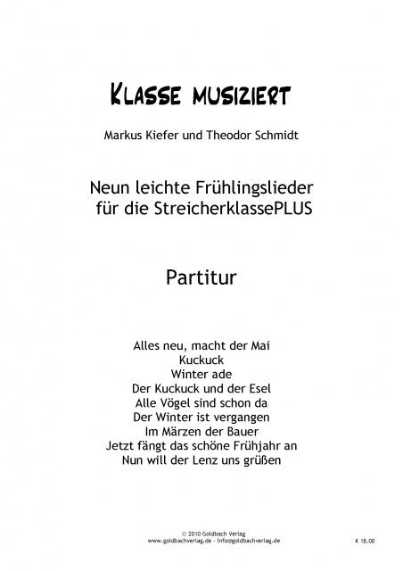 Schöne Weihnachtslieder.Weihnachtslieder Streicherklasse Partitur Goldbach Verlag